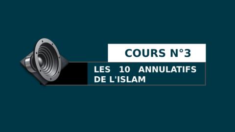 Cours n°3 : Les 10 annulatifs de l'islam avec l'explication de cheikh Salih Al Fawzan.