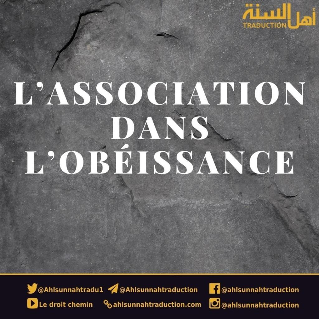 L'association dans l'obéissance.